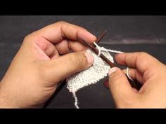 How to Knit: Casting on Stitches in the Middle of your Work - YouTube