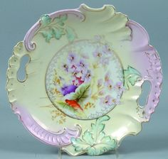 RS Prussia Cake Plate