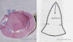 MOLDES - FELTROMARA: chapeu