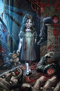 .:✯ Cry Little Sister ~:✯:~ Lines by Tyler Kirkham .:☆:. Colors by Artist Nei Ruffino ✯:.