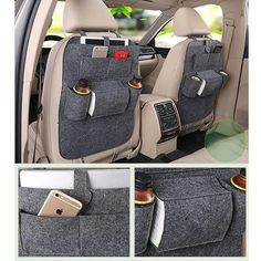 Declutter your car in seconds with our amazing NeatSeat™ organization system. Convenient cup holders and numerous storage pockets Holds iPhones, iPads, tissue boxes, and so much more Install in 30 seconds or less on ALL vehicles! Free Worldwide Shipping & 100% Money-Back Guarantee Online-exclusive: not available in stores! Extremely high demand: allow 3-4 weeks for it to arrive (to be safe). Limit 5 per person!