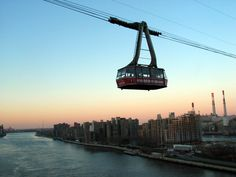 The tram to Roosevelt Island in New York City -- can't wait!!!
