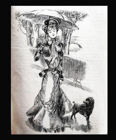 Le Moniteur de la Mode 1898 by NylonBleu, via Flickr
