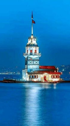 Maiden's Tower Istanbul, Turkey Beautiful Places In The World, Beautiful Beaches, Wonderful Places, Turkey Tourism, Turkey Travel, Istanbul City, Istanbul Travel, Turkey Photos, Beautiful Mosques