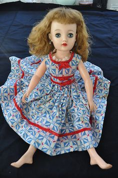 Miss Revlon Doll by Ideal Toy Co. from the 1950s