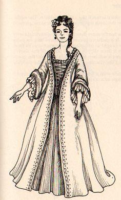 1700's Men's & Women's Fashion.