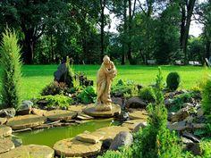 Ogród Dworu Wapowce  #garden #poland