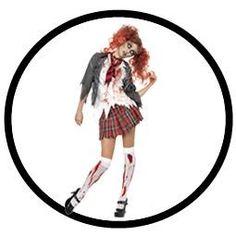 High School Girl Zombie Kostüm - Schulmädchen