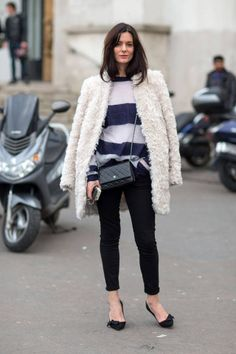 Street Style Paris Fashion Week jesień 2014