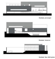 Edificio Sede del Colegio de Arquitectos de San Luis Potosí / x-studio Fachadas
