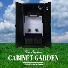 Large Cabinet Garden™ for 6-12 large plants. Nature Approved #hydroponic Home Growing Solution. #hydroponics #aeroponics #superponics #homegrow #homegrown #urbanfarmer #urbanfarm #urbanfarming #diy #doityourself #farmtotable #growyourown #growyourownfood #organic #eatwhatyougrow #vegetables #herbs #fruit #germination #plants #instagardenlovers #instagarden #grow #hydro #growbox #growroom #growcabinet #growcloset #CabinetGarden