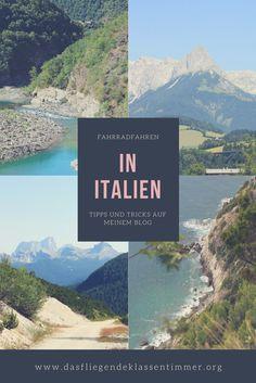 Du möchtest mit dem Fahrrad nach Italien? bei mir findest du wichtige Tipps und Tricks und jede Menge Touren.