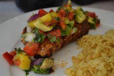 Chef Dopp's Cookbook: chili's copycat Mango Chili Chicken
