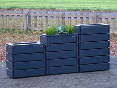 Pflanzkübel Rankgitter groß Rankkasten Pflanzkasten Pflanztrog Pflanzgefäß Holz