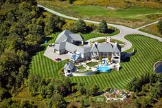 #AerialPhotography of #Mansion with #Pool #AerialPhotographer #Aerial [BP imaging - Bochsler Photo Imaging]