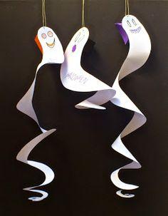DIY ghost ;) fantasmas de papel, halloween, selfpackaging, self packaging, selfpacking