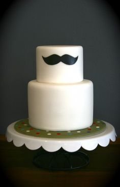 Moustache Cake | Sugarplum Cake Shop » Créations