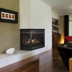 Corner Fireplace | Corner Series Gas Fireplace San Francisco, Bay Area, San  Jose,