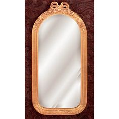 Cathedral Bow Mirror Hickory Manor House Arched & Crowned Mirrors Home Decor
