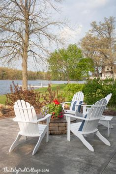 Saving my outdoor furniture - The Lilypad Cottage