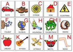 Čtení – Sisa Stipa – Webová alba Picasa Stipa, Book Activities, Montessori, Literacy, Alphabet, Preschool, Language, Letters, Teaching