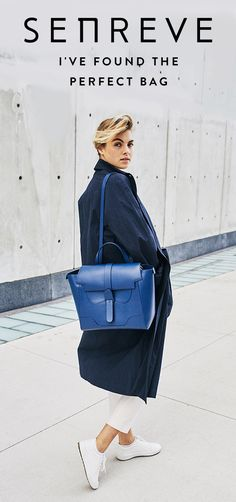 Meet SENREVE, the perfect handbag line for women who do it all.