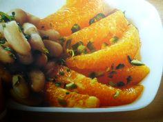 fagioli cannellini ricette - insalata di arance