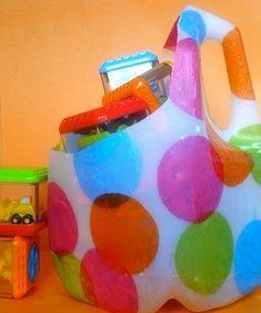 Fun and easy milk jug craft