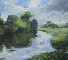 River Evening - Tai-Shan Schierenberg
