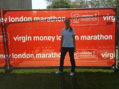 2014 London Marathon in support of Macmillan