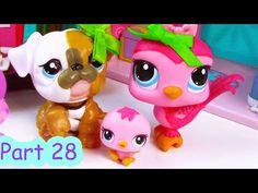baby tiger birth mommies part 12 littlest pet shop series movie rh pinterest com