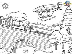 Free Coloring Pages For Boys Worksheets Thomas The Train Pictures Tinkerbell Coloring Pages, Train Coloring Pages, Detailed Coloring Pages, Coloring Sheets For Kids, Coloring Pages For Boys, Mandala Coloring Pages, Free Coloring Pages, Coloring Books, Colouring Sheets