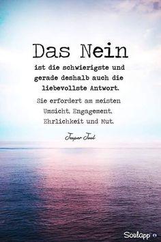 ZielCoach Marketing / Marketing Coaching / Bianca Katzer - The no - Best Quotes, Love Quotes, Afraid Quotes, German Quotes, German Words, True Words, Cool Words, Decir No, Positive Quotes