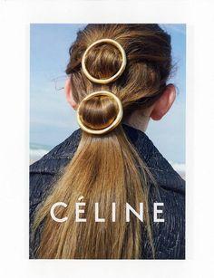 Céline spring summer 2015 Ad Campaign.