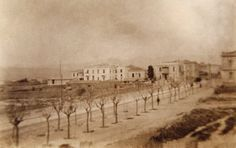 Patision avenue in Athens the way it was in 1909...