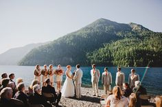 A Woodsy Pacific Northwest Wedding from Ryan Flynn Photography