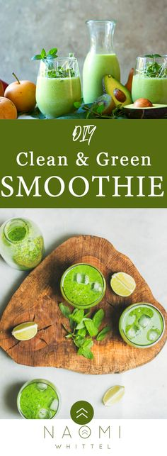 Clean & Green Smoothie - For A Fat – Fueled Lifestyle Wellness Tips, Health And Wellness, Bitters Recipe, Keto Flu, Milk Thistle, Green Cleaning, Good Fats, Better Health, Soup And Salad