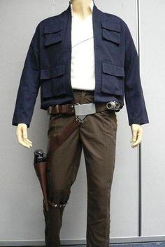 Star Wars Han Solo ESB Full Costume Belt Holster Droid Caller