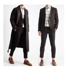 핏중심 10부 기장의 슬랙스바지 정장바지-slacks12 - [존클락]30대 남자옷쇼핑몰, 깔끔한 캐쥬얼 데일리룩, 추천코디