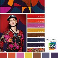 #DesignOptions FW18/19 color report on #WeConnectFashion, Women's Market Mood details: Urban Dweller, detail.