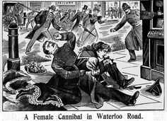 'A Female Cannibal' (IPN, 1897). Of course, policeman's knee should really be served with fava beans & a nice chianti