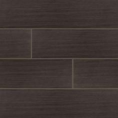 FLOORING: MS International Timber Ebony 6 in. x 24 in. Glazed Ceramic Floor and Wall Tile (32 cases / 512 sq. ft. / pallet)-NTIMEBO624 - The Home Depot