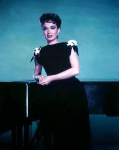 Ann Blyth. Not only a great actress, had a beautiful soprano voice.