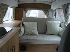 VW 1972 Camper Van interior.