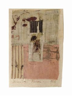 Hannelore Baron (1926-1987), Untitled, 1978. 28.6cm H x 19.7cm W.