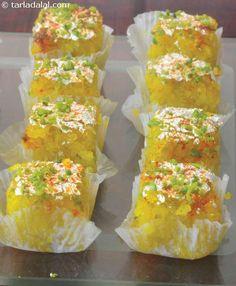 Kopra Pak ( Gujarati Recipe) recipe | by Tarla Dalal | Tarladalal.com | #35792