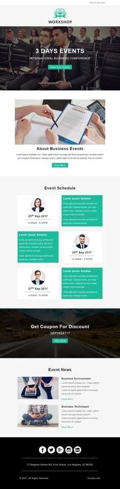Event, Conference, Meetup, Seminar, Simple, Corporate, Office, Responsive, Mailchimp, Job, Stampready, Creative, Modern, Business, Professional, Hire, Vacancy, Newsletter, Agency Newsletter Template Free, Html Email Templates, Newsletter Ideas, Mail Chimp Templates, Campaign Monitor, Responsive Email, Email Client, Classroom Bulletin Boards, Free Education
