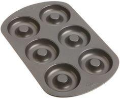Wilton Nonstick 6-Cavity Doughnut Pan by Wilton,