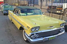 Chevy Impala just like ours 1958 Chevy Impala, Chevrolet Impala, American Classic Cars, Best Classic Cars, Convertible, Ride 2, Us Cars, Car Tuning, Cars Motorcycles