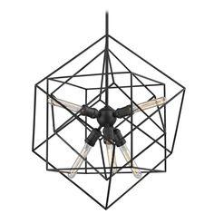 Design Classics Lighting Modern Geometric Pendant Light 2302-ESP